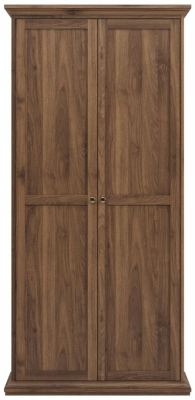 Paris Walnut 2 Door Wardrobe
