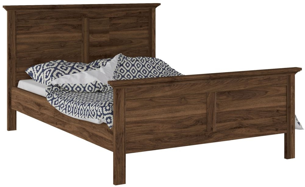 Paris Walnut 4ft Bed