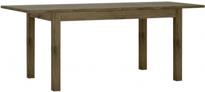 Park Lane Oak and Champagne Dining Table - Extending