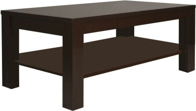 Pello Dark Mahogany Coffee Table - Large