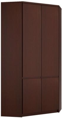 Pello Dark Mahogany Wardrobe - Corner