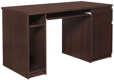 Pello Dark Mahogany Desk