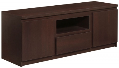 Pello Dark Mahogany TV Cabinet