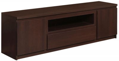 Pello Dark Mahogany Wide TV Cabinet