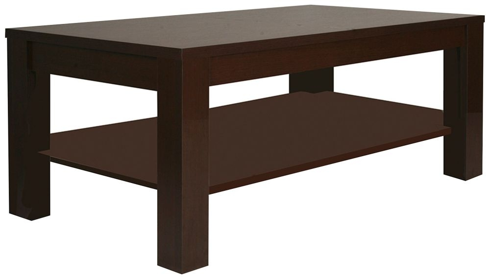 Pello Dark Mahogany Large Coffee Table