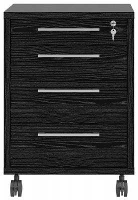 Prima Black Mobile Cabinet