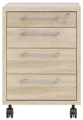 Prima Oak Mobile Cabinet