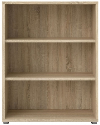 Prima Oak 2 Shelves Open Bookcase