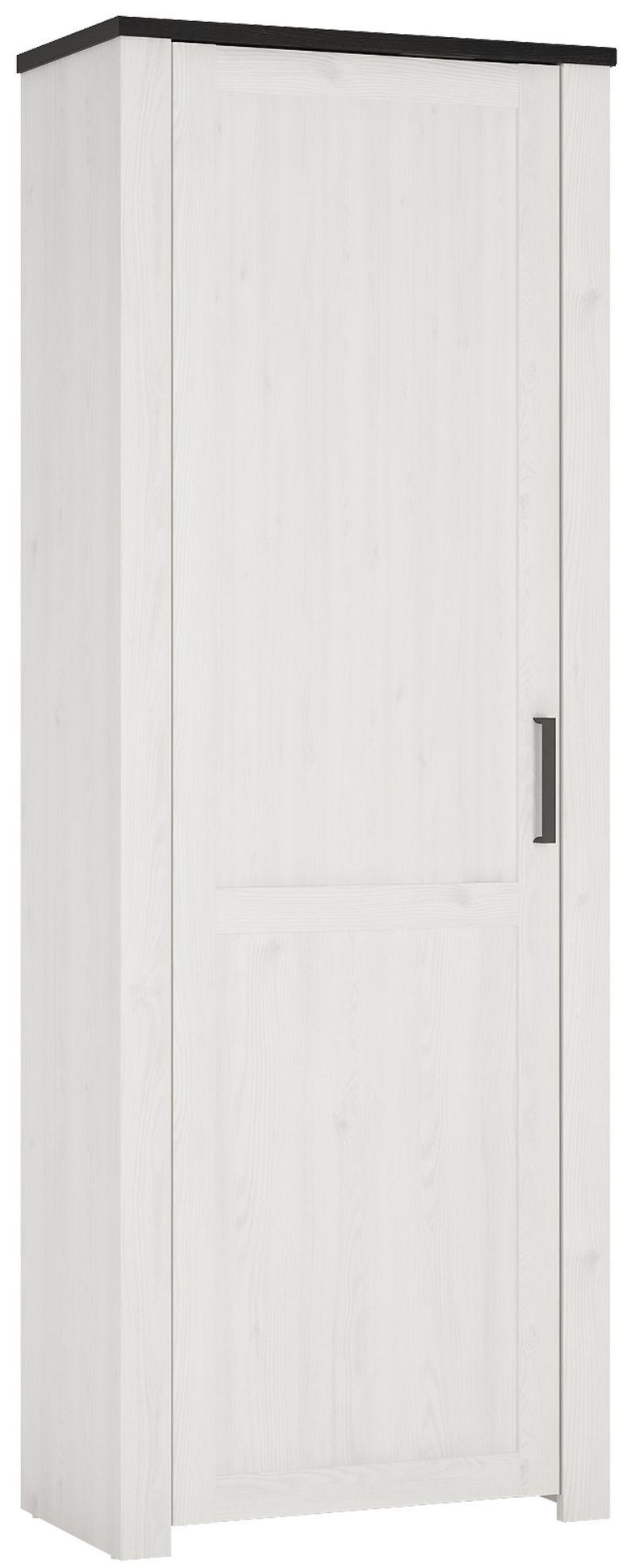 Provence Whitewash Larch Wardrobe - 1 Door