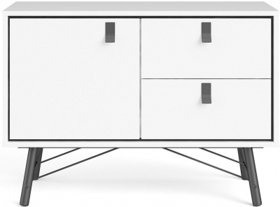Ry Matt White Sideboard