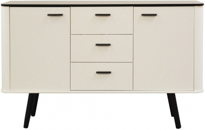 Scandinavian Style Sideboard with Black Legs