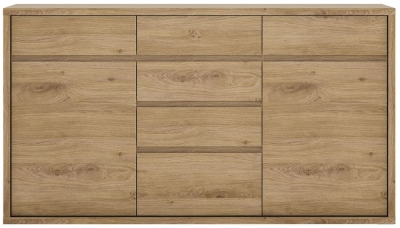 Shetland Oak 6 Drawer Chest