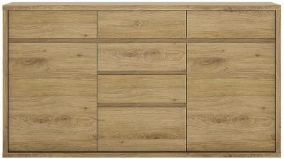 Shetland Chest of Drawer - 2 Door 6 Drawer