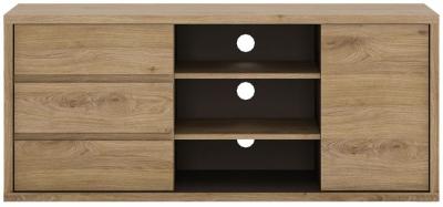 Shetland Oak TV Cabinet