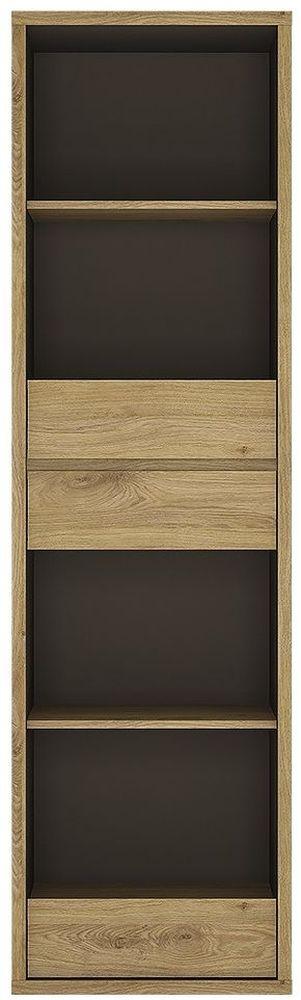 Shetland Bookcase - Tall Narrow 3 Drawer