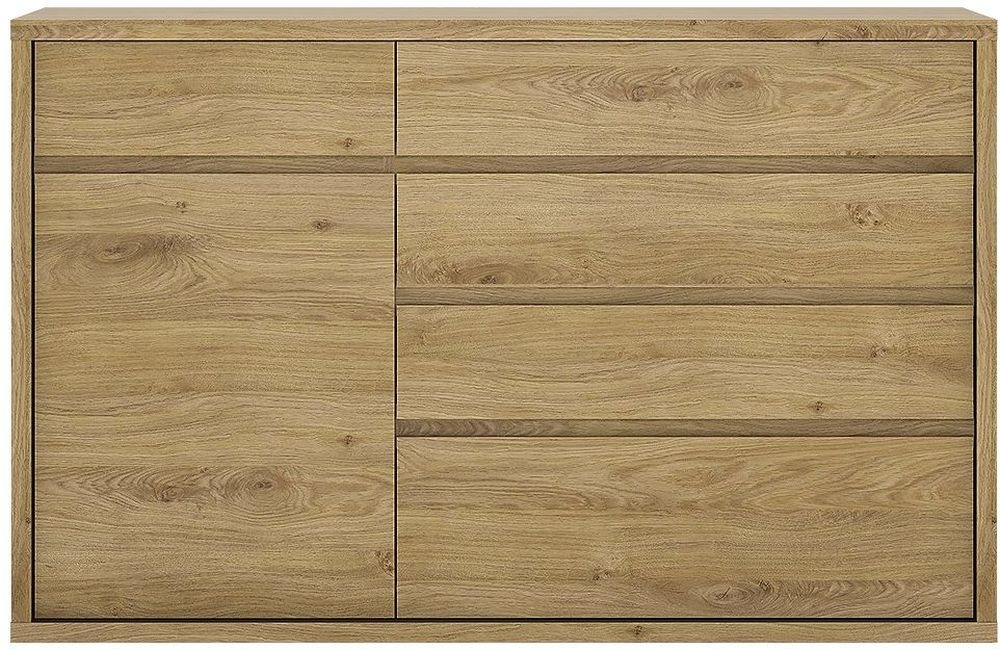 Shetland Cupboard - 1 Door 5 Drawer