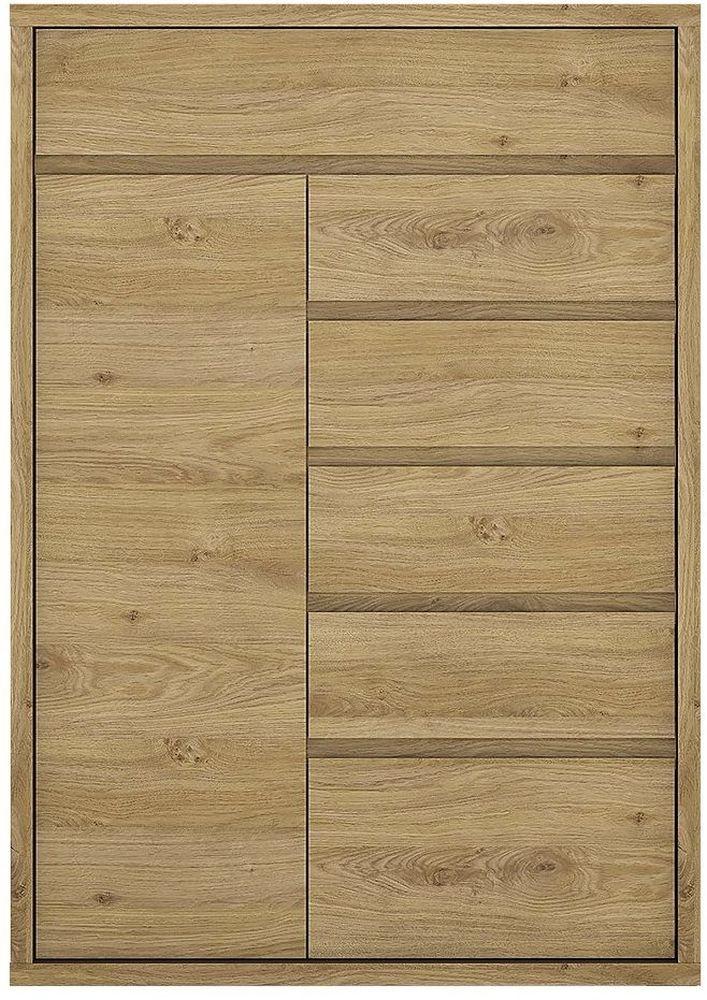 Shetland Cupboard - 1 Door 6 Drawer