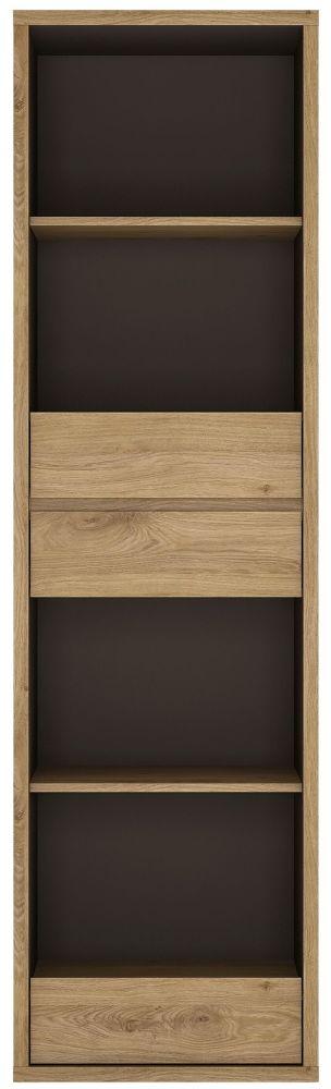 Shetland Oak Tall Narrow Bookcase