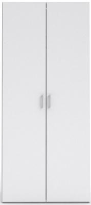 Space White 2 Door Wardrobe