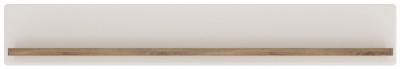 Toledo Wall Shelf - Oak and High Gloss White