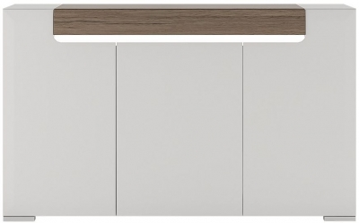 Toronto Sideboard - 3 Door with Plexi Lighting