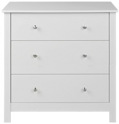 Wilton White 3 Drawer Chest