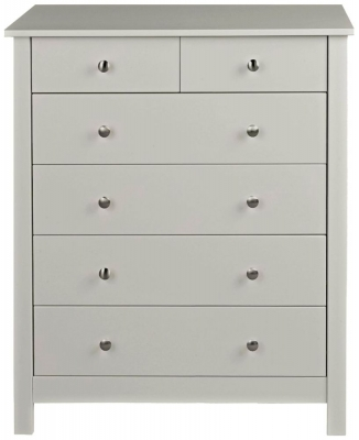 Wilton Soft Grey 4+2 Drawer Chest