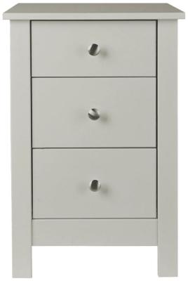 Wilton Soft Grey Bedside Cabinet