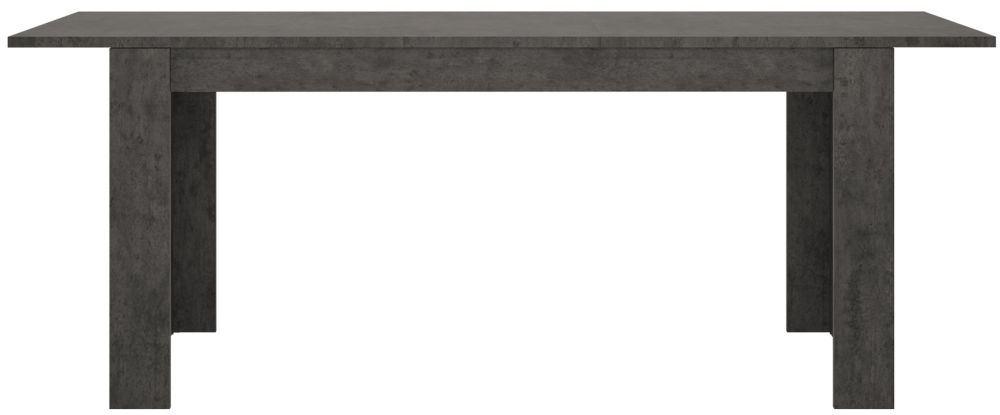 Zingaro Extending Dining Table - Slate Grey