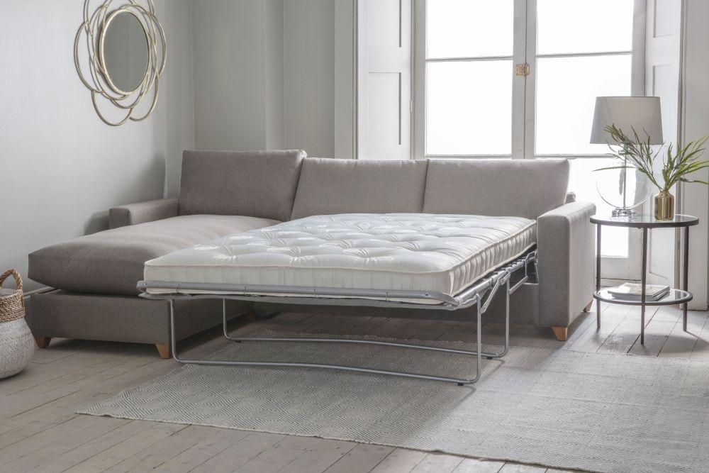 Gallery Burton Fabric Ottoman Sofa Bed - Left Hand