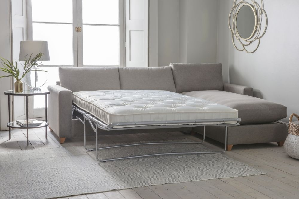 Gallery Burton Fabric Ottoman Sofa Bed - Right Hand