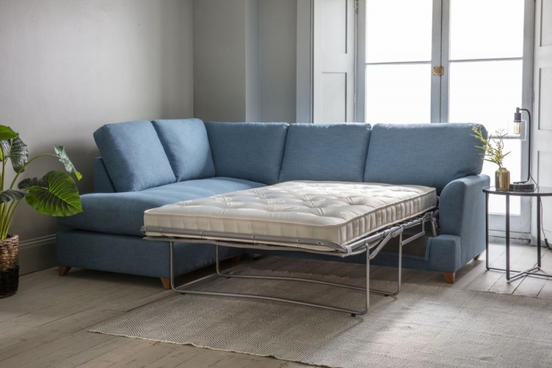 Gallery Charlford Fabric Chaise Sofa Bed - Right Hand