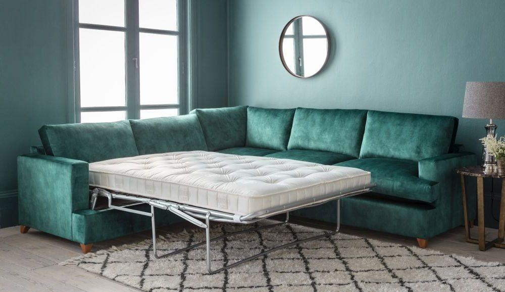 Gallery Highcliffe Fabric Corner Sofa Bed - Right Hand
