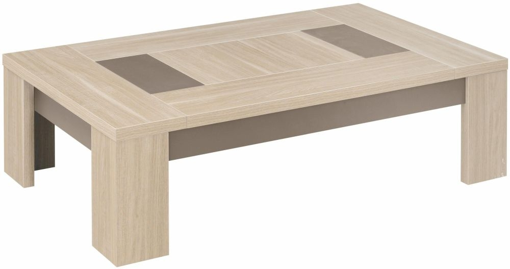 Buy Gami Atlanta Light Oak Coffee Table Rectangular Online Cfs Uk