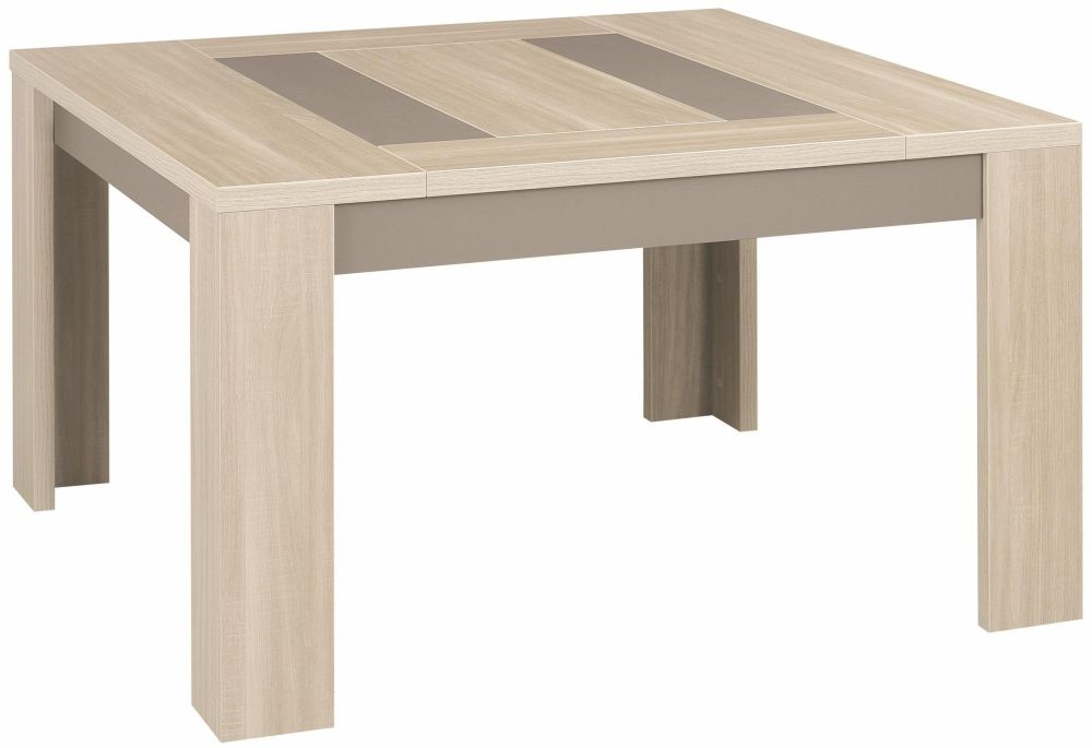Gami Atlanta Light Oak Dining Table - Square