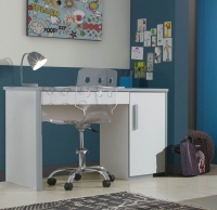 Gami Babel White Desk - 1 Door