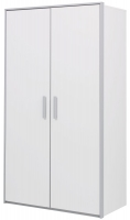 Gami Babel White Wardrobe - 2 Door