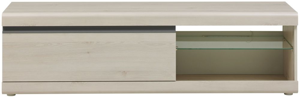Gami Barolo Whitewashed Pine TV Unit