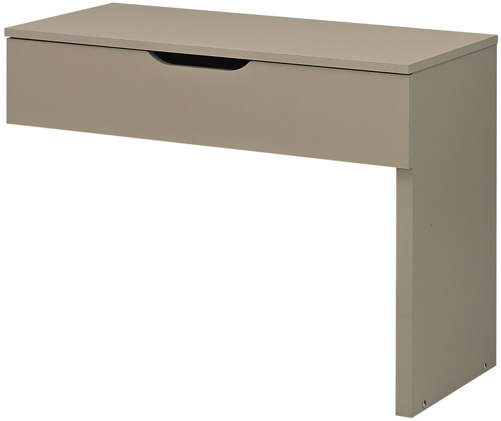 Gami Brooklyn Oak Ash and Taupe Swing Tray for TV Unit