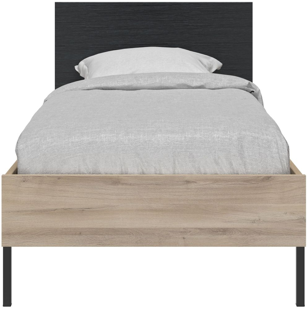 Gami Castel Light Oak Bed