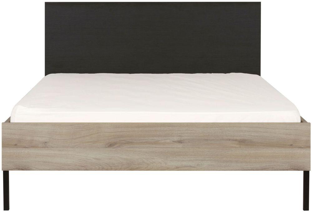Gami Castel Light Oak Double Bed