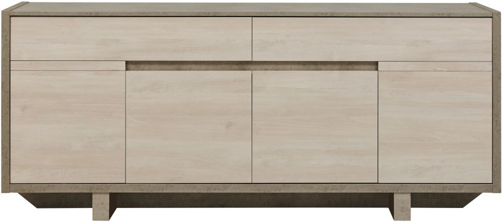 Gami Colima Sideboard - 4 Door 2 Drawer