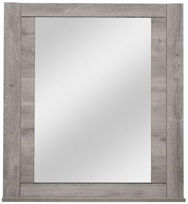 Gami Eden Grey Oak Mirror - Free