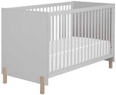 Gami Eliott Sanded Light Grey Cot Bed