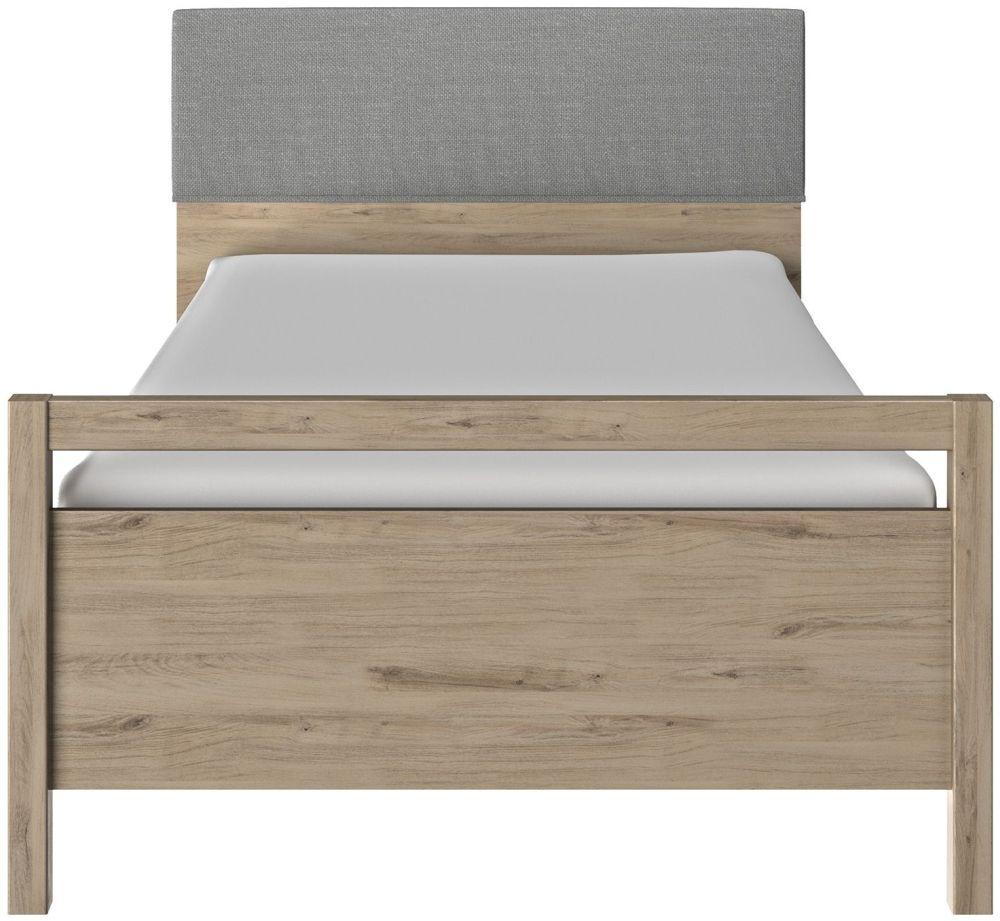 Gami Ethan Light Oak Bed