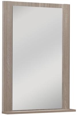 Gami Hangun Charcoal Oak Standing Mirror