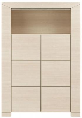 Gami Hanna Bleached Ash Dresser - 2 Door