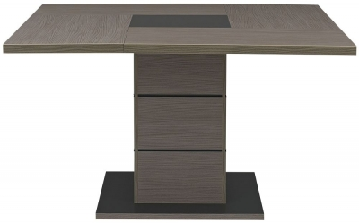 Gami Hanna Ceruse Oak Dining Table - Square