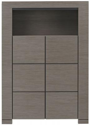 Gami Hanna Ceruse Oak Dresser - 2 Door