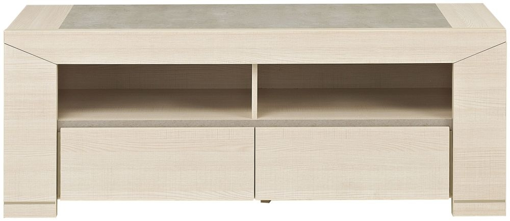 Gami Hanna Bleached Ash TV unit - 2 Drawer